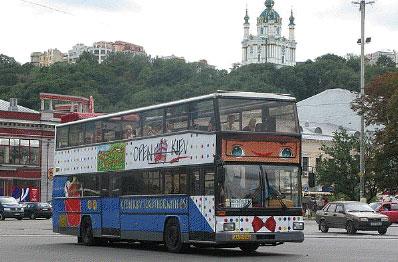 Познавательная и интересная экскурсия на двухэтажных автобусах с открытым верхом.  Если вы снимаете квартиру в Киеве...